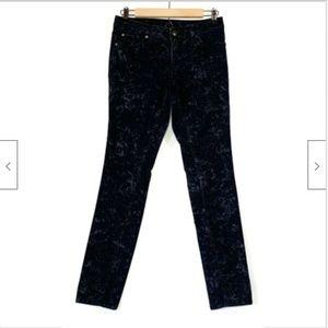 Jessica Simpson Snakeskin Forever Skinny Jeans 27